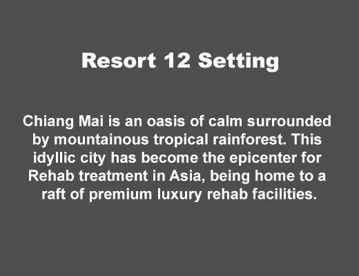 Resort 12 Rehab Setting