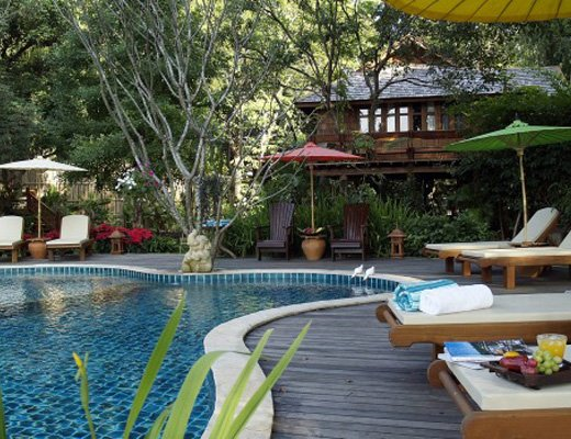 Outdoor Pool at Resort 12 Rehab in Thailand